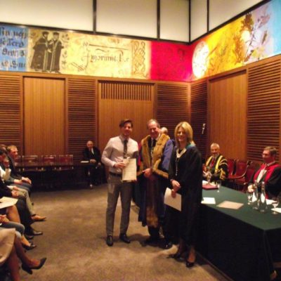 Leathersellers Diploma: Calum Bryan