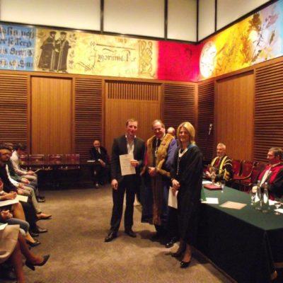 Leathersellers Diploma: Noel Gilet